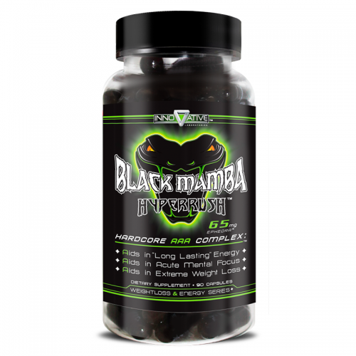 Black Mamba 90 caps Innovative Labs