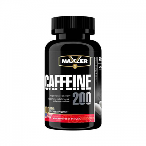 Энергетик Caffeine Maxler (200 мг, 100 таблеток)