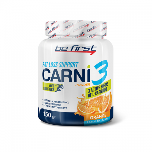 L-карнитин Carni 3 powder Be first (150 г)