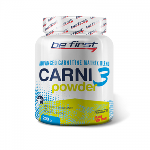 Carni 3 powder 200 gr Be first