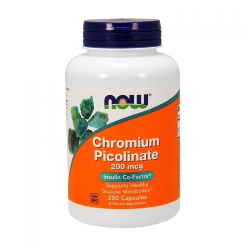 Chromium picolinate 200 мг (250 кап) NOW