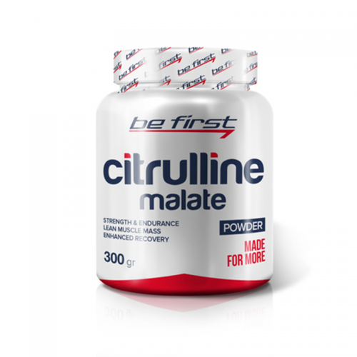 Аминокислоты Citrulline malate powder Be first (300 г)