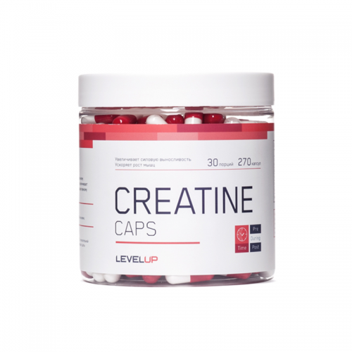 Креатин Level Up Creatine (270 капсул)