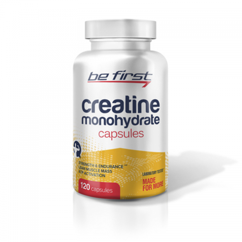 Креатин Be first Creatine Monohydrate (120 капсул)