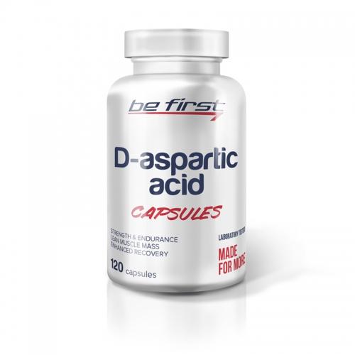 Бустер тестостерона D-aspartic acid Be First (120 капсул)