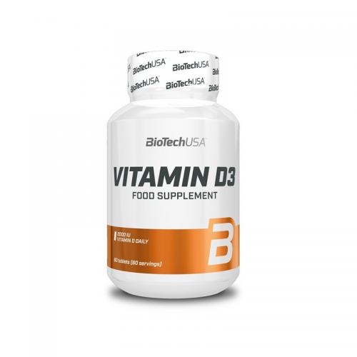 Vitamine D3 60 caps Boitech