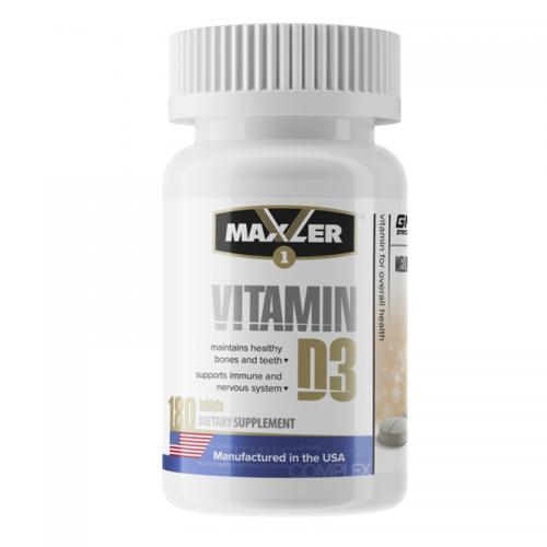Vitamine D3 180 tab Maxler