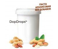 Арахисовая паста без добавок (1000 г) Dopdrops