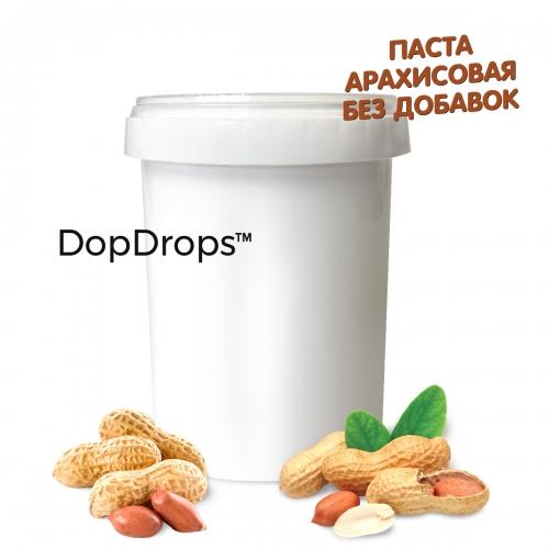 Паста Арахисовая без добавок (1000 г) Dopdrops