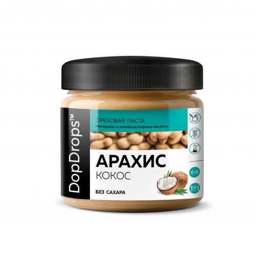 Паста Арахисовая с кокосом (150 г) DopDrops