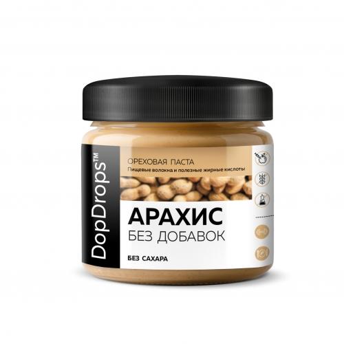 Арахисовая паста без добавок (150 г) Dopdrops