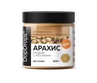Паста Арахисовая Кранч сладкая (500 г) DopDrops