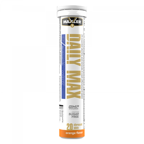 Витамины Daily Max Effervescent Maxler (20 таблеток)