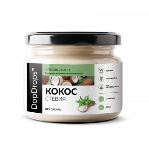 Паста Кокосовая со стевией (250 г) DopDrops