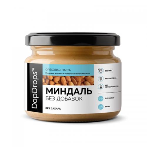 Паста Миндальная без добавок (250 г) DopDrops