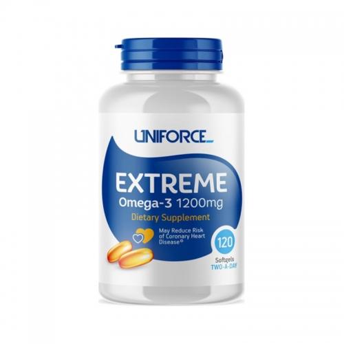 Extreme Omega-3 1200 мг Uniforce (120 капсул)
