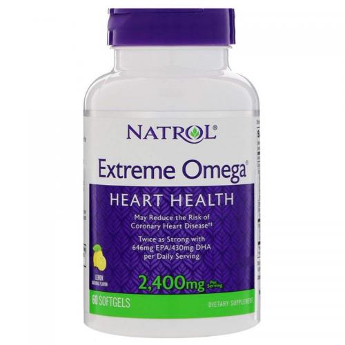 Extreme omega 60 softgels Natrol