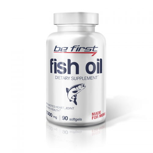 Рыбий жир Be first Fish oil (90 гелевых капсул)