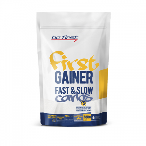 Гейнер First Gainer Fast & Slow Carbs Be First (1000 г)