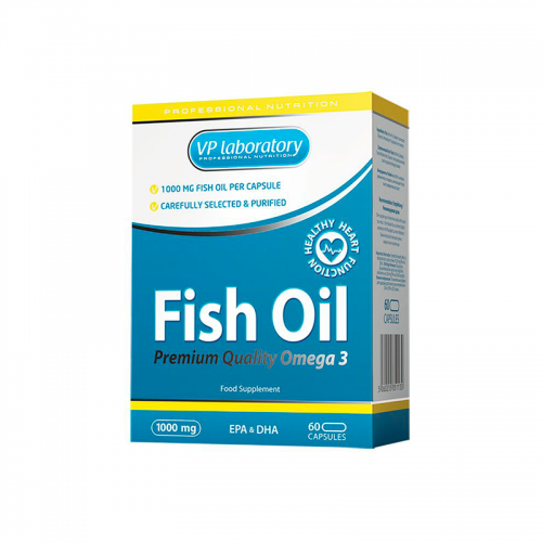 Рыбий жир Fish Oil VP Lab (60 капсул)