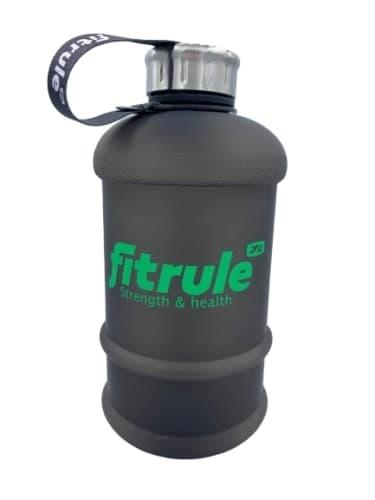 Бутыль прорезиненная с металлической крышкой (2,2 л) Fit Rule