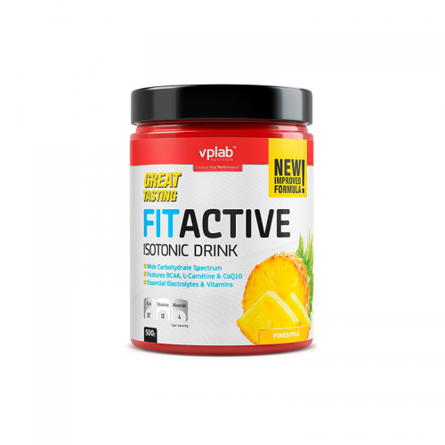 Изотоник FitActive Isotonic Drink VP Lab (500 г)