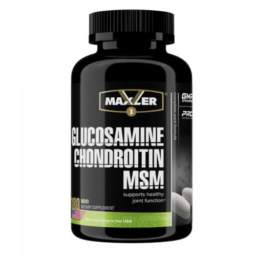 Хондропротектор Glucosamine-Chondroitin-MSM Maxler (180 таблеток)