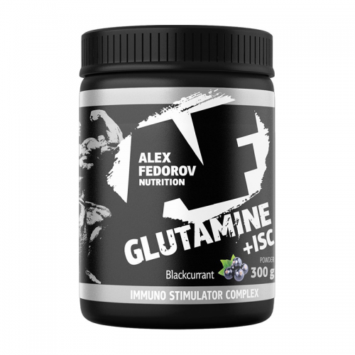 Глютамин Glutamine +ISC Alex Fedorov Nutrition (300 г)