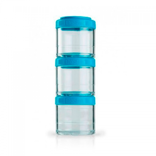 GoStak 100мл 3 контейнера Blender Bottle