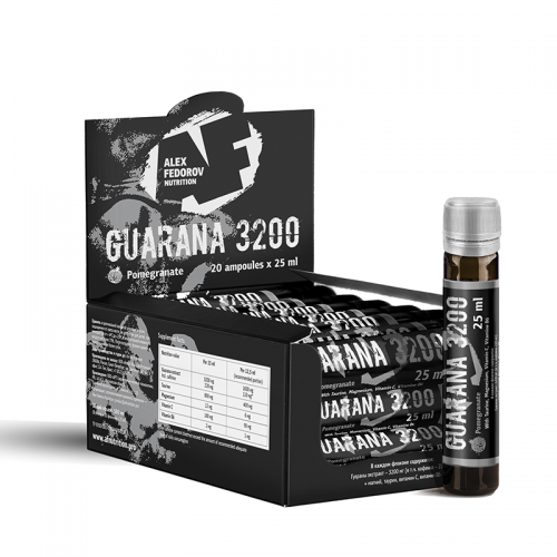 Guarana 3200 1 amp Alex Fedorov Nutrition