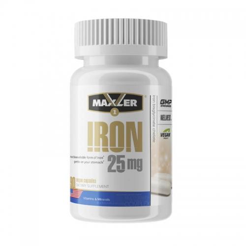 Iron 25 mg (90 кап) Maxler