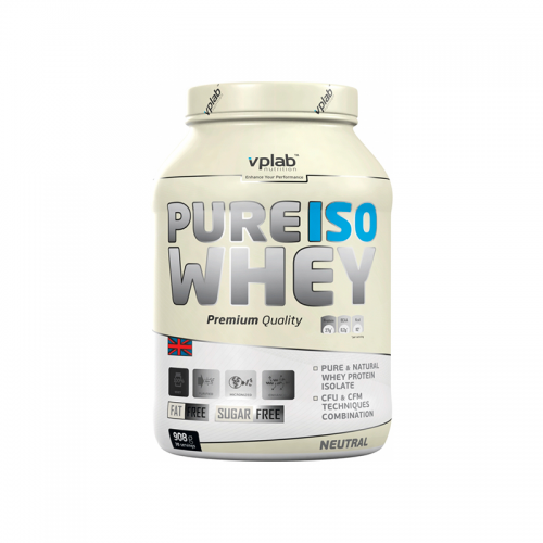 Протеин PureIso Whey VP Lab (908 г)