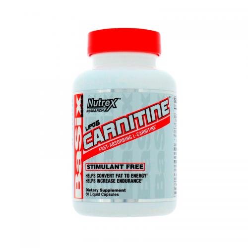 Жиросжигатель Lipo-6 Carnitine Nutrex (60 капсул)