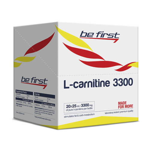 L-карнитин Be first L-carnitine 3300 (1 ампула, 25 мл)