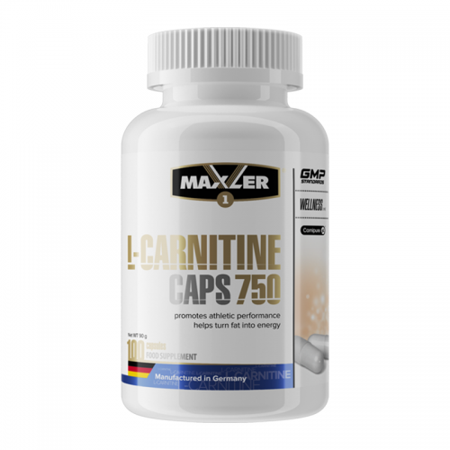 L-карнитин Maxler L-Carnitine 750 (100 капсул)