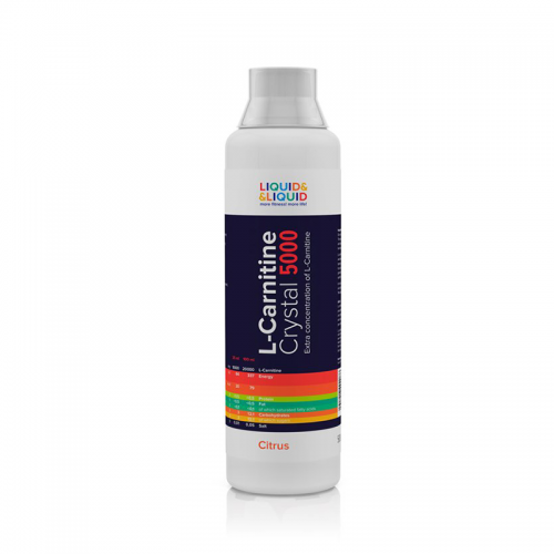 L-carnitine Crystal 5000 Liquid&Liquid (500 мл)