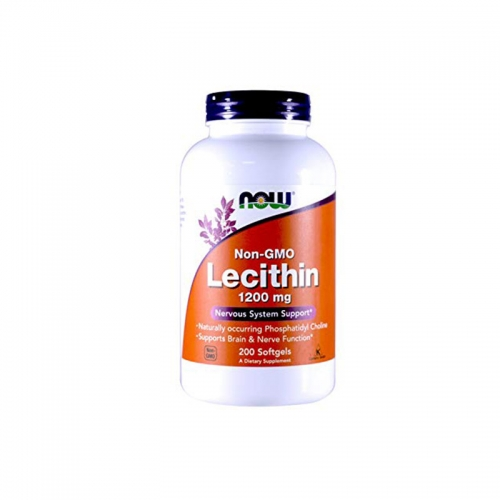 Lecithin 1200 mg ( 200 кап) NOW