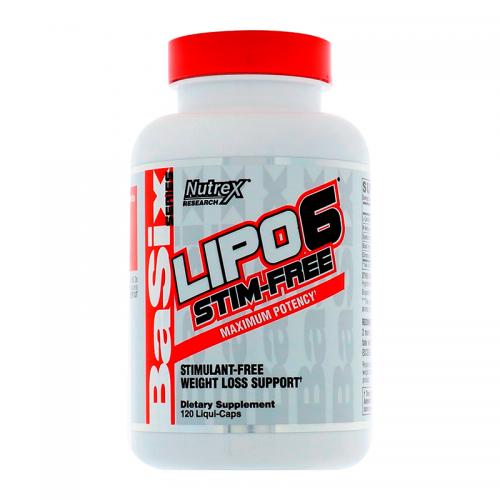 Жиросжигатель Lipo-6 Nutrex (120 капсул)