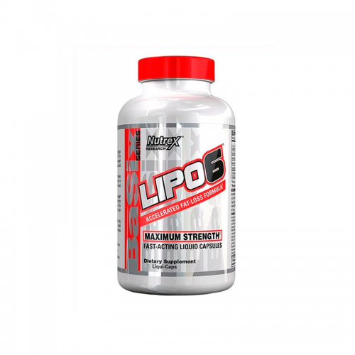 Жиросжигатель Lipo-6 Nutrex (240 капсул)