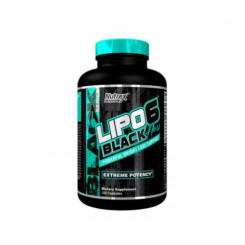 Жиросжигатель Lipo-6 Black Hers Nutrex (120 капсул)