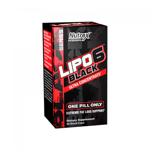 Жиросжигатель Lipo-6 Black ULTRA CON Nutrex (60 капсул)