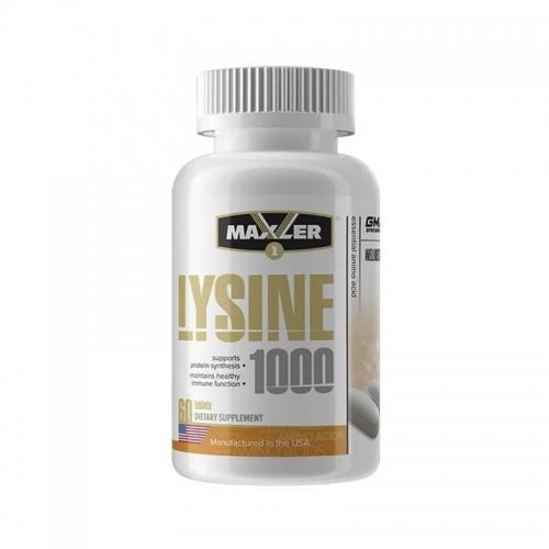 Lysin 1000 (60 таб) Maxler