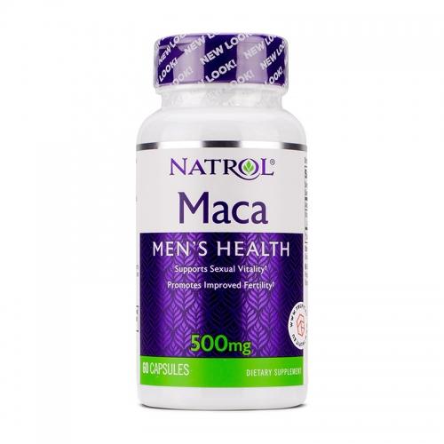MACA 500 мг (60 капс) Natrol
