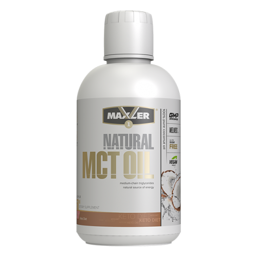 МСТ-масло MCT Oil Natural Maxler (450 мл.)
