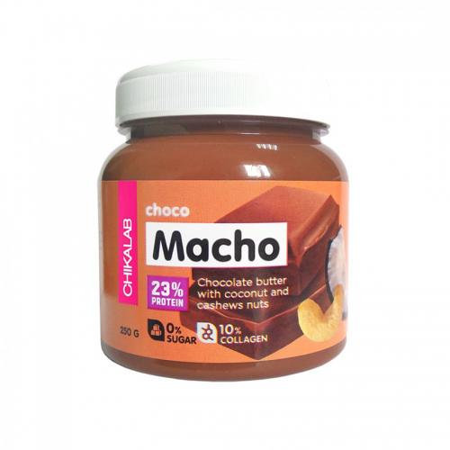 Паста шоколадная с кокосом и кешью Choco Macho Chikalab (250 г)