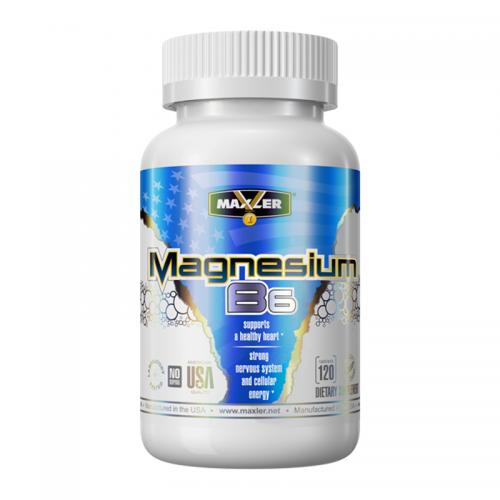 Минерально-витаминный комплекс Magnesium B6 Maxler (120 таблеток)