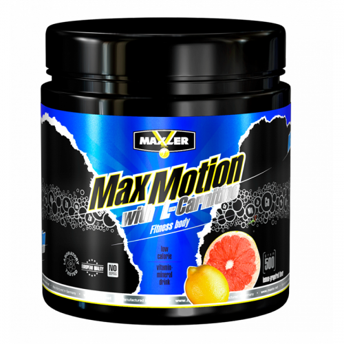 Max Motion with L-Carnitine 500g (can) Maxler