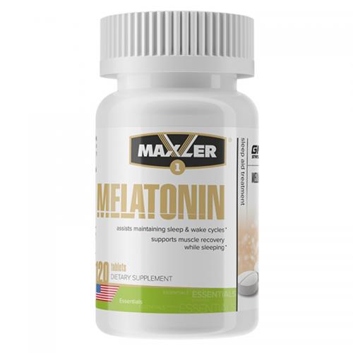 Мелатонин Maxler Melatonin (3 мг, 120 таблеток)