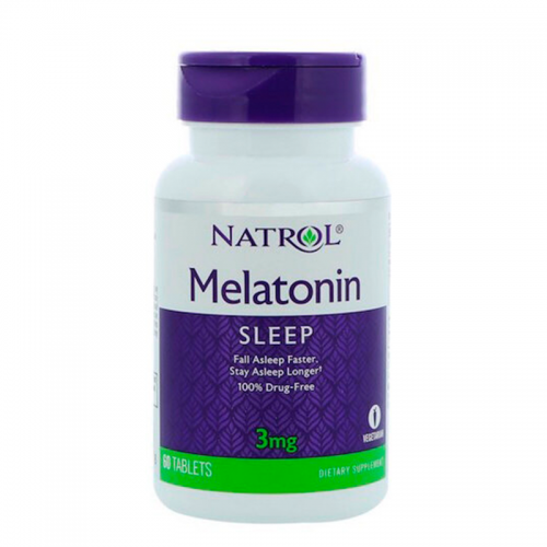 Melatonin 3mg 60 tab Natrol