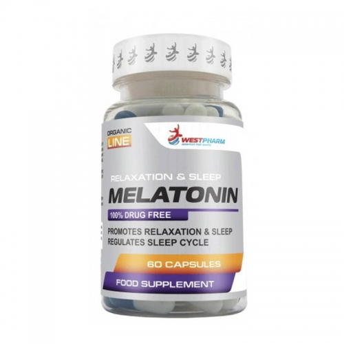 Melatonin 5mg (60 капс) Westpharm
